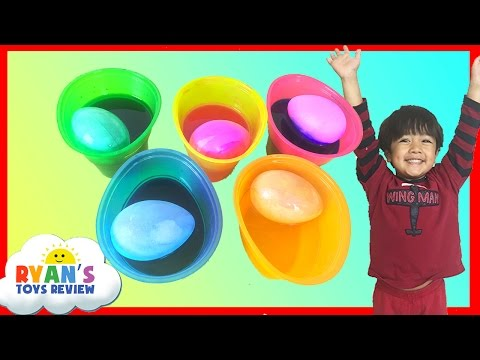 Thumbnail: Coloring Easter Eggs with Paw Patrol Stickers Easter Toys Ryan ToysReview