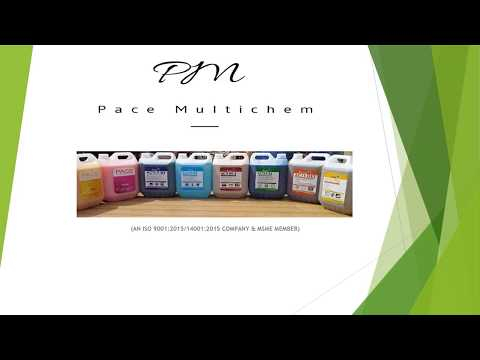 Pace Multichem | Housekeeping Products | Cleaning And Hygiene Chemicals |