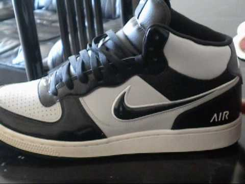 Nike Air Indee Highs Black/Silver/White