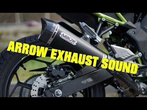 2019 kawasaki z125 arrow exhaust sound