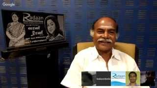 Live Chat With Your Vaani Rani Favourite Stars | Point (Joker Thulasi) | Live youtube video  23-10-2015