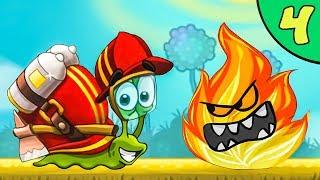Несносный УЛИТКА БОБ 3. Серия 4. Мультик Snail Bob 3 на канале Игрули TV