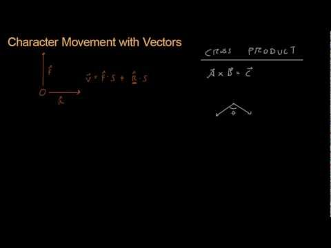 Math for Game Developers - Character Movement 7 (Cross Product)