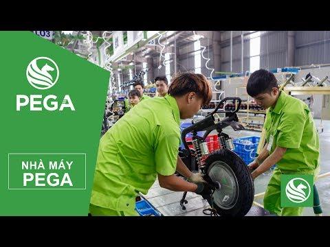 Quảng cáo nhà máy lắp ráp xe điện Pega