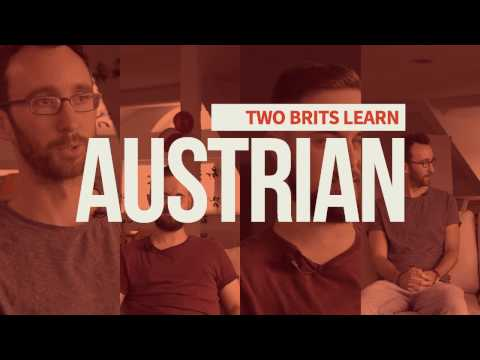 How Hard Is It To Learn Austrian German? — Two Brits Find Out!