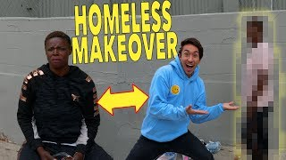 GIVING A HOMELESS WOMAN A MAKEOVER *EMOTIONAL*