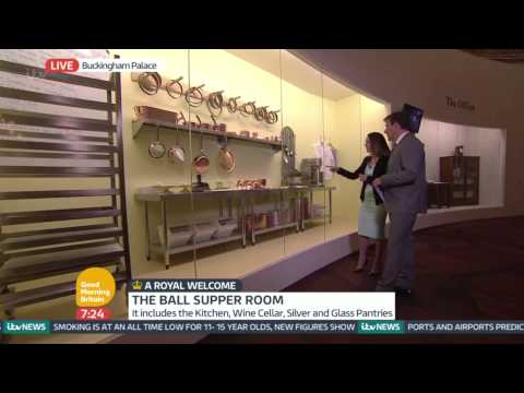 A Look At The Exhibition - Inside Buckingham Palace | Good Morning Britain