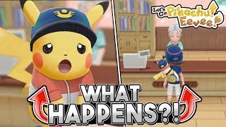 What Happens If You Put Your Starter Pokemon In The Daycare In Let's Go Pikachu & Eevee?