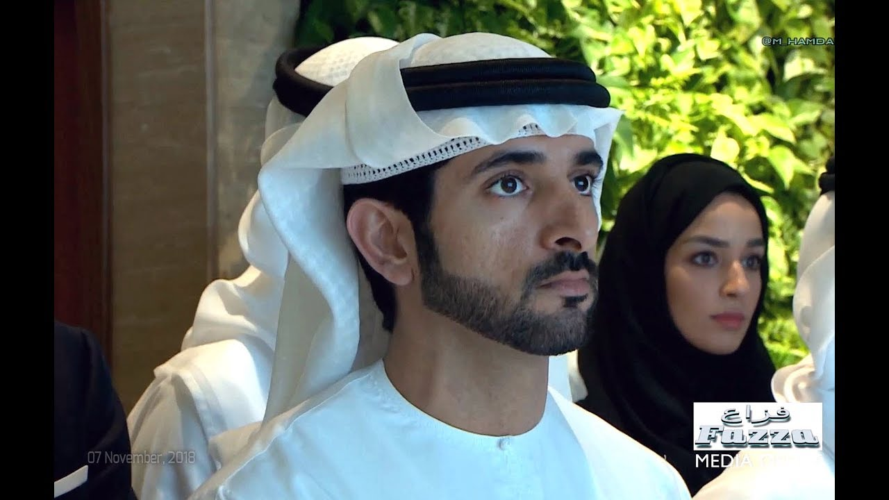 Sheikh Hamdan ( فزاع Fazza) visits DEWA's MORO (07 November, 2018)