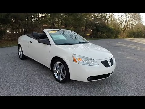 2008 pontiac g6 gt hardtop convertible p10688a youtube. Black Bedroom Furniture Sets. Home Design Ideas