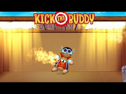 Vampire Buddy | Kick the Buddy Game #5 | Android Games 2018 Gameplay | Friction Games