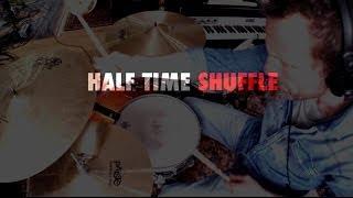 DRUM LESSON: Half Time Shuffle (Purdie, Bonham, Porcaro)