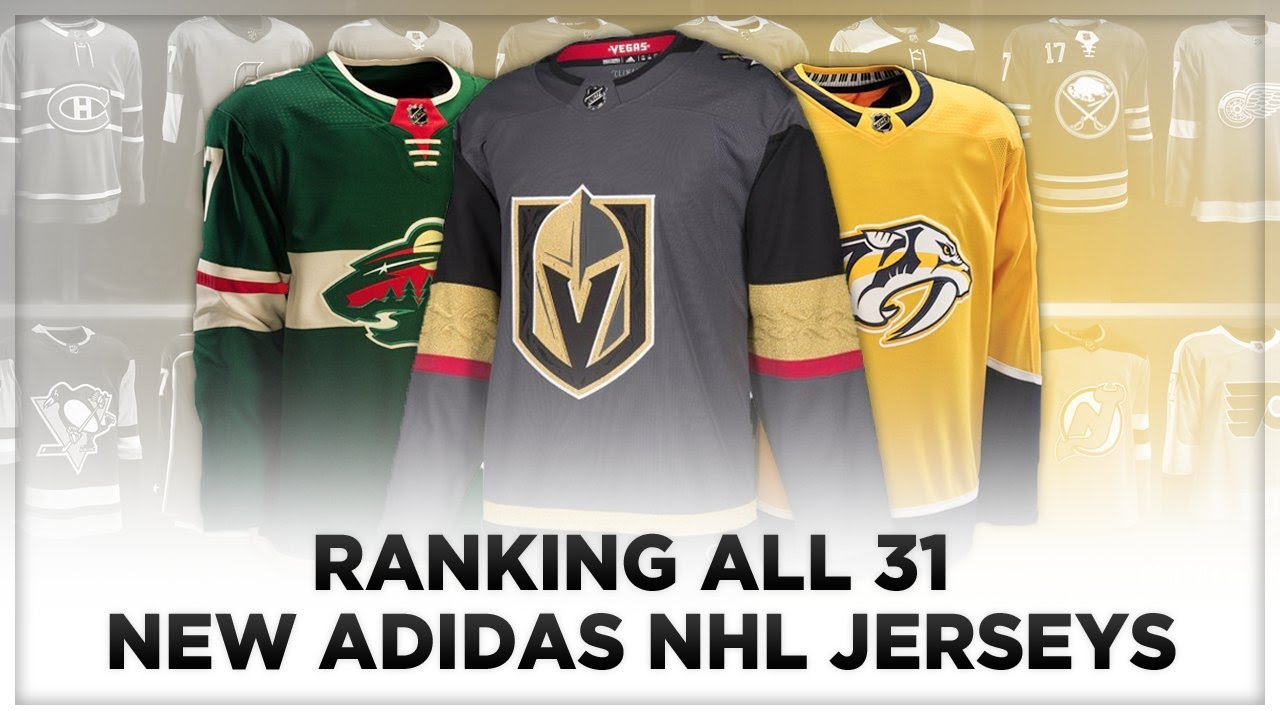 RANKING ALL 31 NEW ADIDAS NHL JERSEYS! - YouTube 0a4943d7231