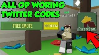 [ROBLOX] ALL WORKING TWITTER CODES FOR TOWER DEFENCE SIMULATOR|| FREE EMOTE