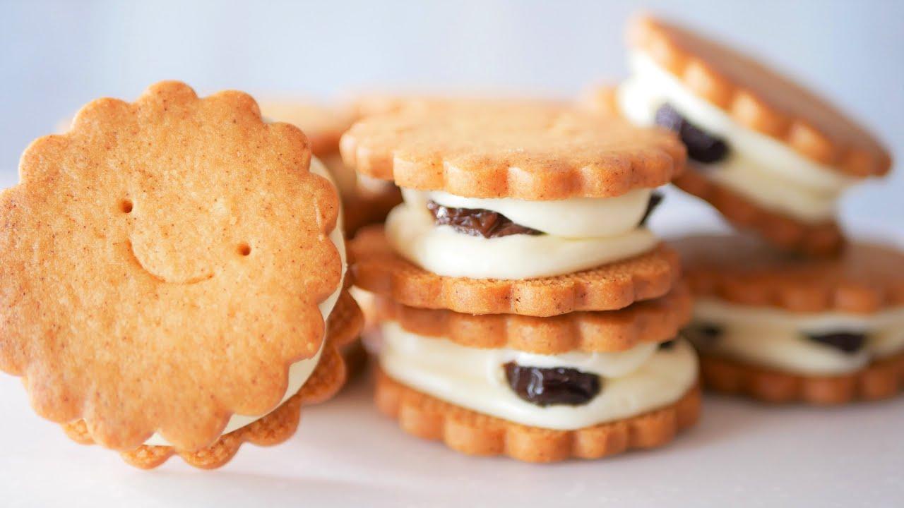 密着24時!究極のバターサンドクッキー作り方♪試作から完成まで公開 ビルソンローラーズ