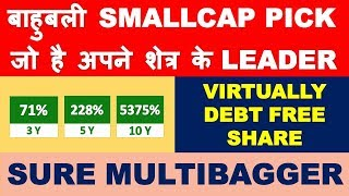 Best small cap stock to buy now   multibagger stocks 2019 india   Long term stock pick for profit