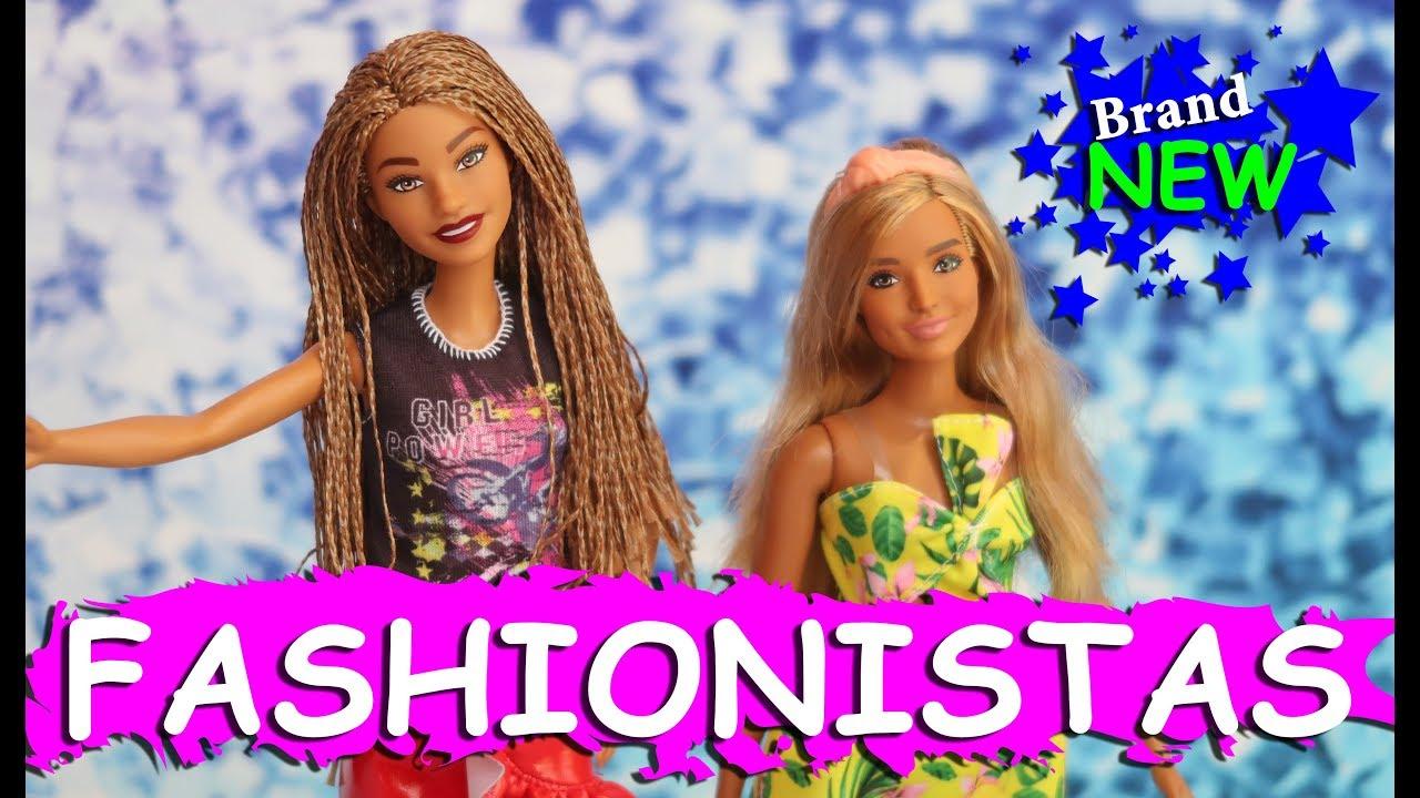 BRAND NEW 2019 Barbie Fashionista #123 Doll Review Barbie