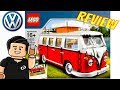 Lego Creator Volkswagen T1 Camper Van COMBI VW Set 10220 Revision