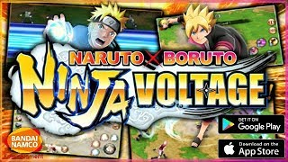 010118 NARUTO X BORUTO NINJA VOLTAGE Gameplay on PC Keyboard Mouse Mapping x Nox Emulator EP01