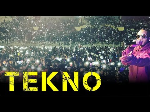 TEKNO LATEST LIVE PERFORMANCE 2017