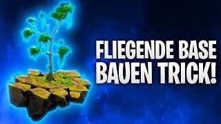TRICK! FLIEGENDE BASE BAUEN! ☄️ | Fortnite: Battle Royale