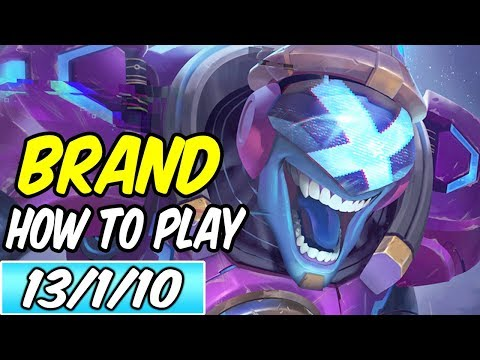 HOW TO PLAY BRAND | Build & Runes | Diamond Commentary | Lea