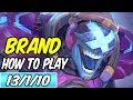 HOW TO PLAY BRAND | Build & Runes | Diamond Commentary | League of Legends