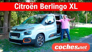 Citroën Berlingo XL 2020 | Prueba / Test / Review en español | coches.net