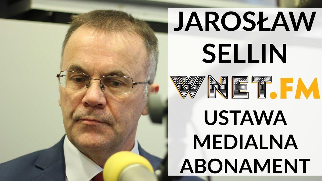 Sellin: Jestem przeciwnikiem finansowania mediów publicznych z budżetu państwa