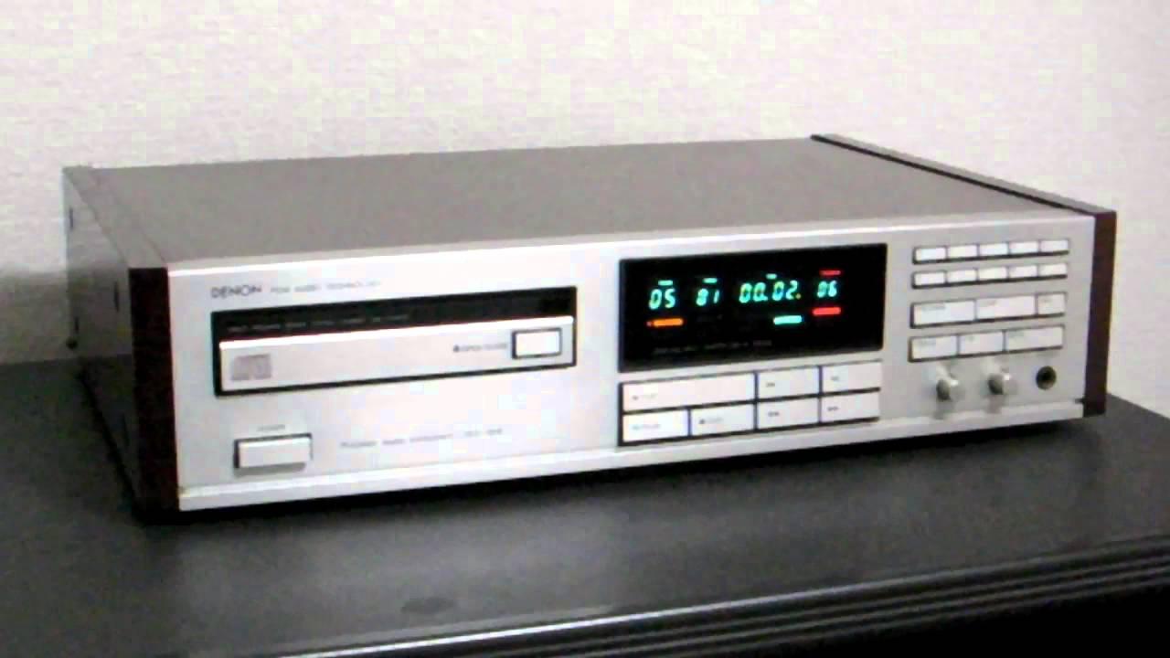 Denon Dcd 1800 Cdプレーヤー Youtube
