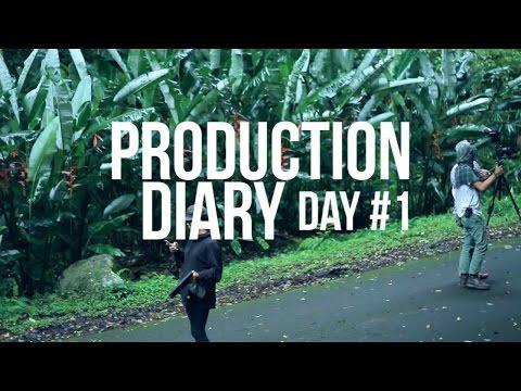 PRODUCTION DIARY Day 1 CEMARA HUJAN FILM #kopiuntukcinta