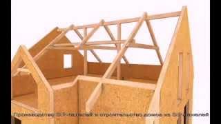 Теплый дом из СИП панелей(ООО