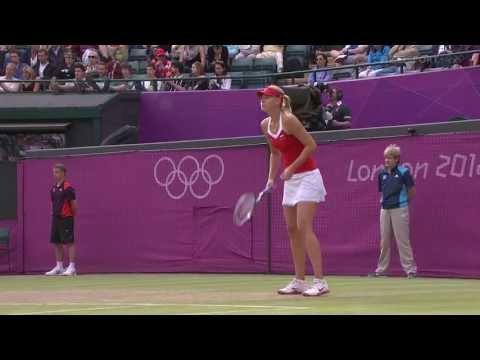 London Olympics Lisicki Vs Sharapova