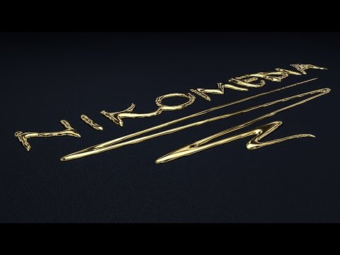 Liquid Gold - Cinema 4D Tutorial