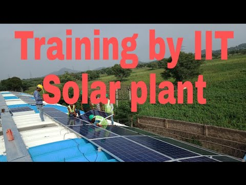 1st solar village- 7 day Sour urja training programme in  @ IIT BOMBAY