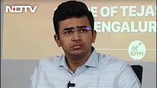 BJP's Tejasvi Surya Avoids Key Questions On Communal Slur In