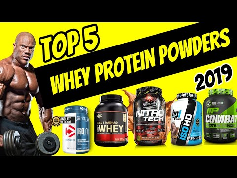 top-rated-whey-protein-powders-in-world-2019