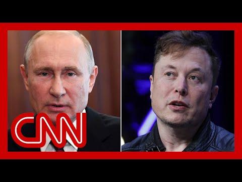 Elon Musk invites Vladimir Putin for a conversation on Clubh