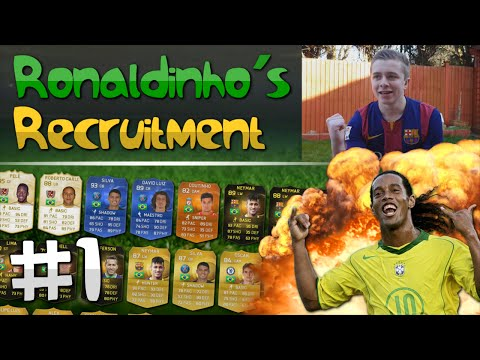 FIFA 15 - Ronaldinho's Recruitment | EP. 1 (KEEPY UPPY CHALLENGE)