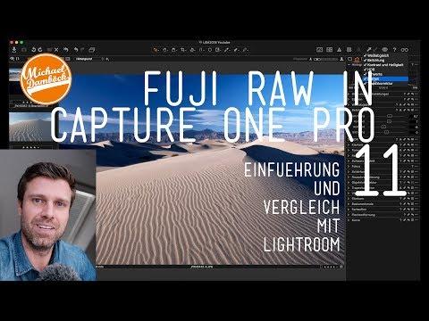Capture one Pro 11 und 12 | Einführung und Erklärung (nicht nur für Fuji Fans)