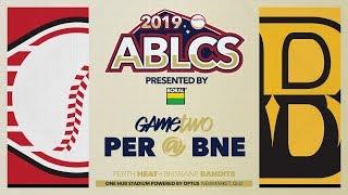 #ABLCS GAME TWO | Perth Heat @ Brisbane Bandits