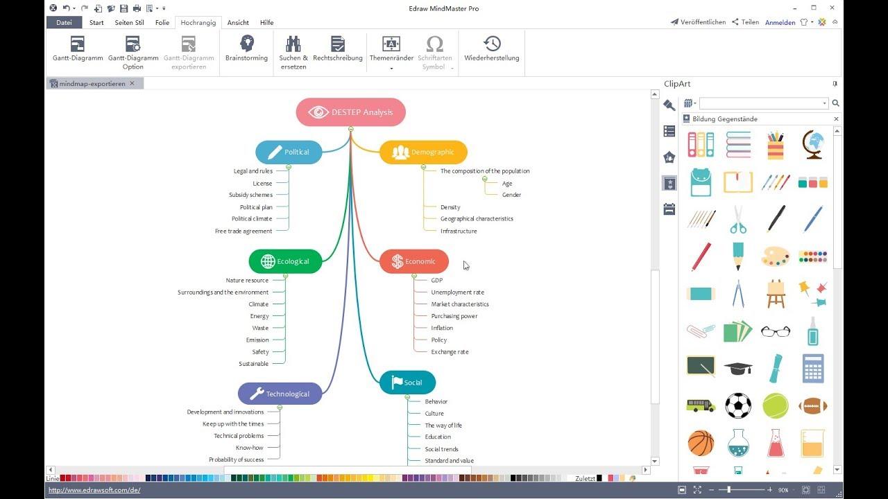 Kostenlose Mind Map Vorlagen Fur Word Powerpoint Und Pdf