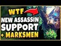 NEW CAMOUFLAGE ASSASSIN REVEALED, NEW *WEIRD* MARKSMAN + PANTHEON REWORK! - League of Legends