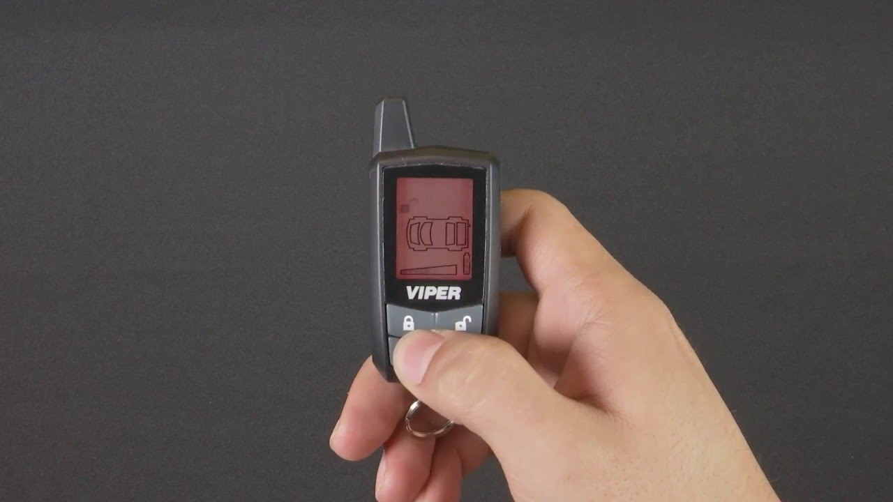 viper 7345v remote control pairing instructions for viper python clifford and avital 2 way lcd [ 1280 x 720 Pixel ]