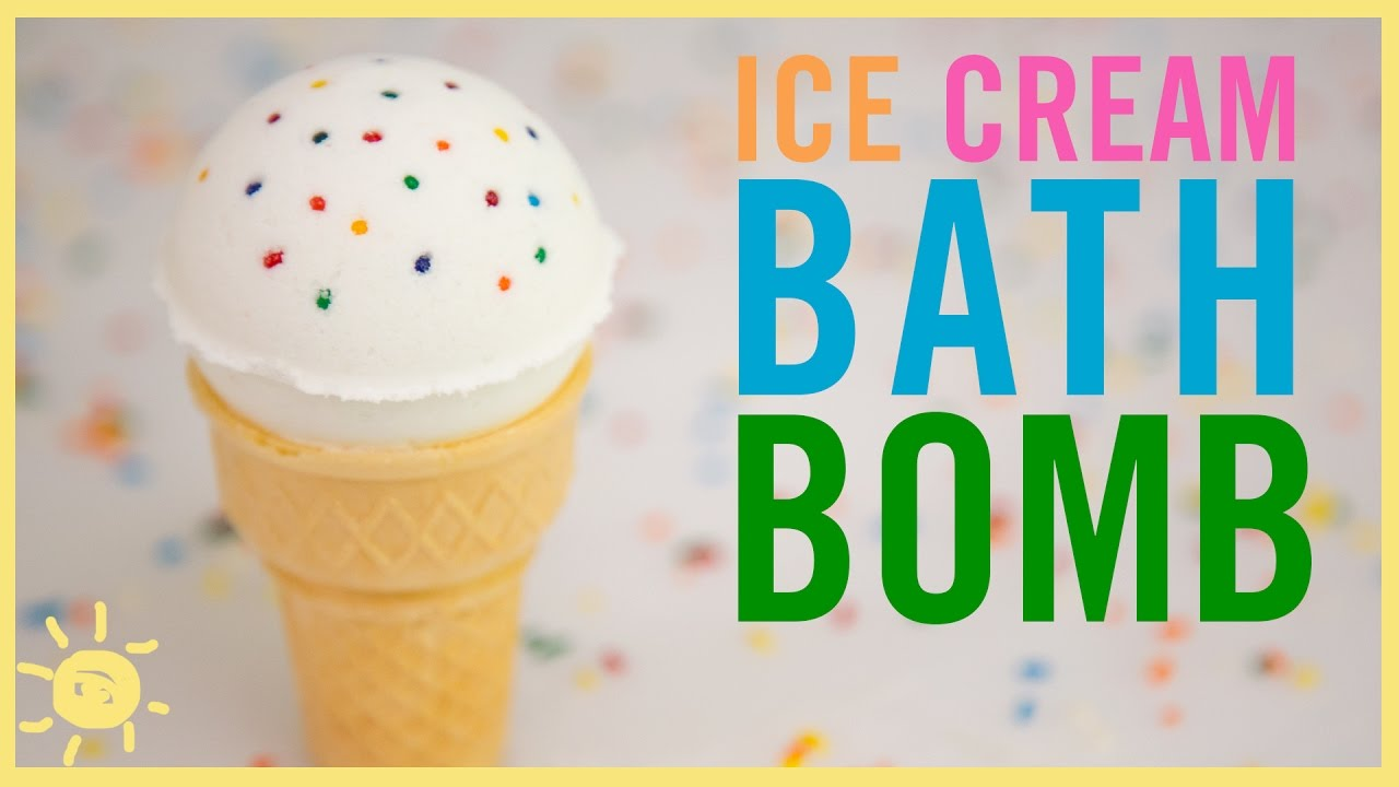 Diy Ice Cream Bath Bombs Youtube