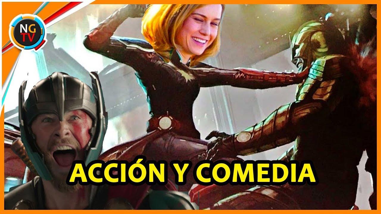 Capitana Marvel Sera Otra Pelicula De Accion Con Comedia