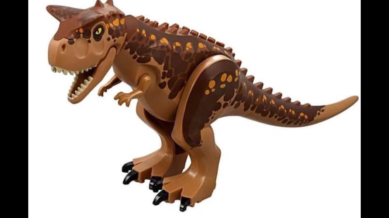 First Official Look At The Lego Carnotaurus Youtube