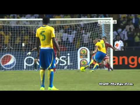 Morocco - 2 vs 3 - Gabon ● Africa Cup Of Nations 2012