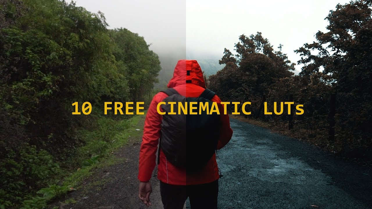 LUT PACK | 10 FREE Cinematic LUTs