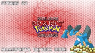 "Roblox Project Pokemon Nuzlocke Challenge - #23 ""Swampert's Defence Done!"" - Commentaire"